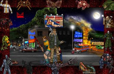 Resident Evil Survivor - Border by wondermanrules