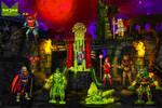 Slime Slaves ofThe Evil Horde by wondermanrules
