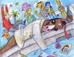 Happiness Is A Wet Dream, Bojack Horseman