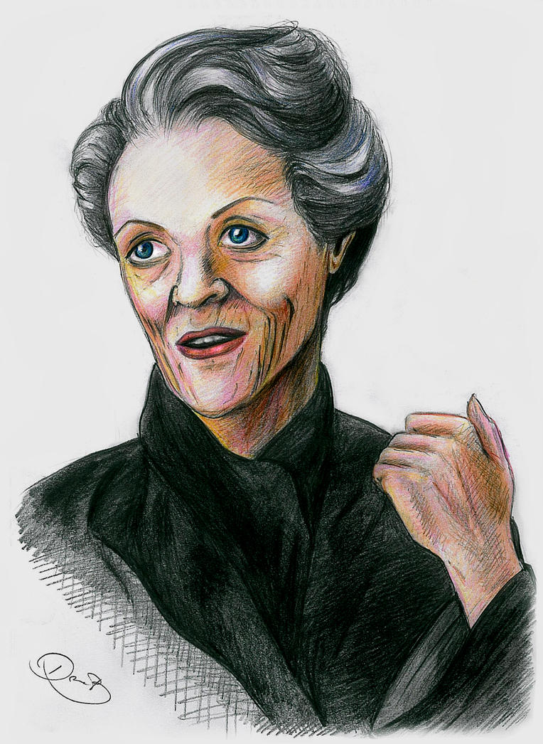 Maggie Smith by DoraTheBrit