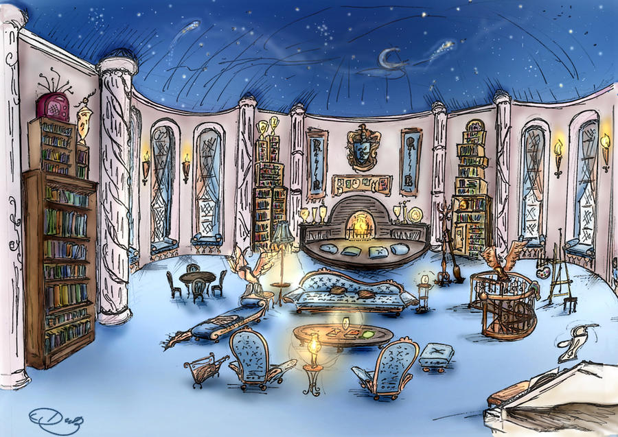 Ravenclaw Tower by DoraTheBrit
