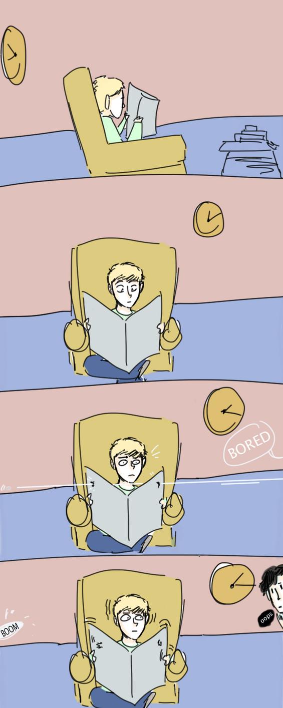 Sherlock: Oops by MegX78