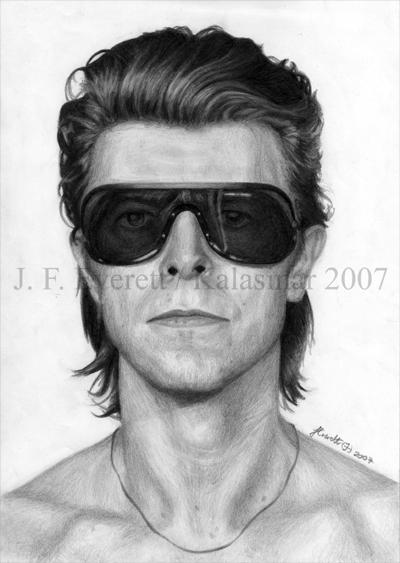 David Bowie V by Kalasinar