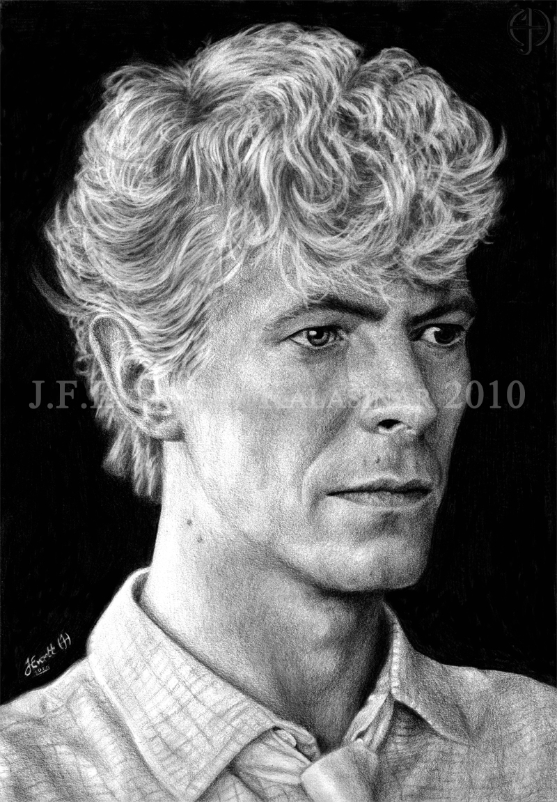 David Bowie IX by Kalasinar