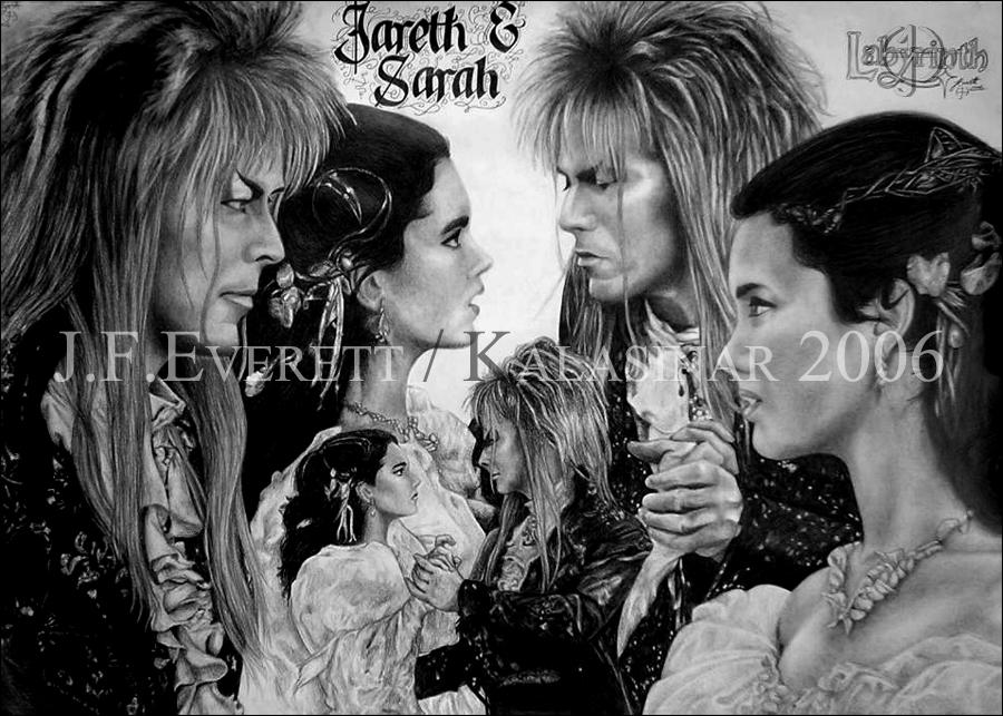Labyrinth - Jareth and Sarah by Kalasinar on DeviantArt