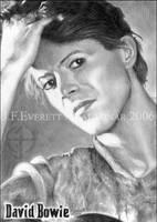 David Bowie III by Kalasinar