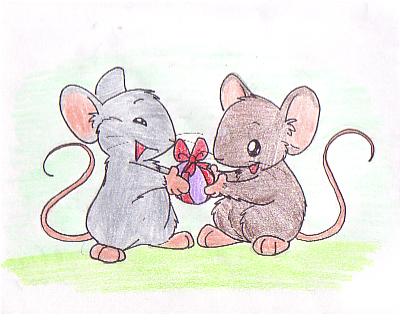 Mouse Gift by Zerochan923600