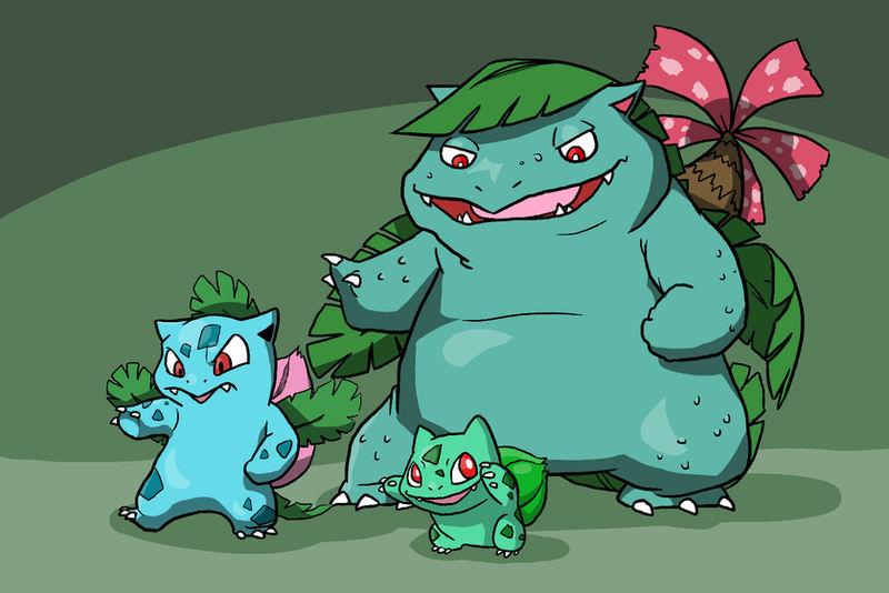 The Bulbasaur Family