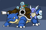 The Squirtle Family