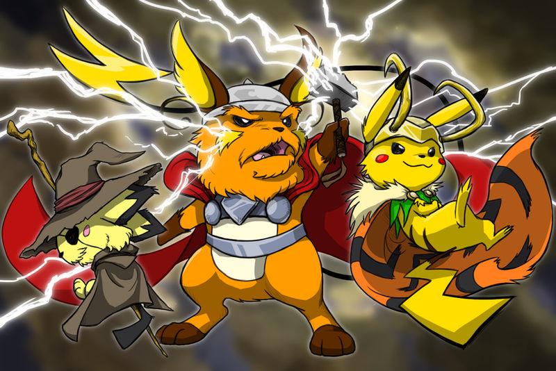 The Pikachu Family