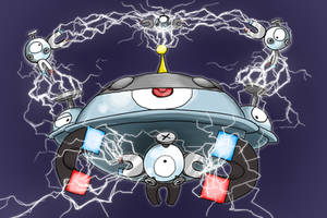 The Magnemite Family by Zerochan923600
