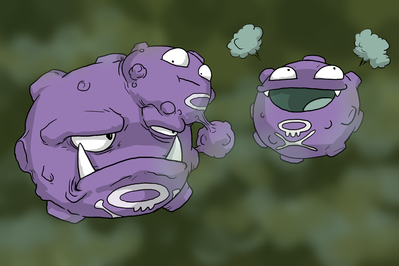 The Koffing Family by Zerochan923600 on DeviantArt