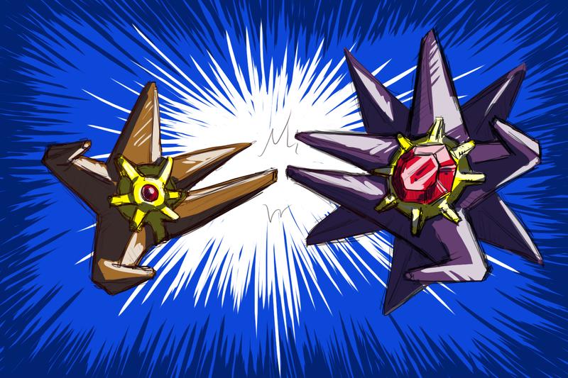 Staryu evolution pokemon origins staryu family