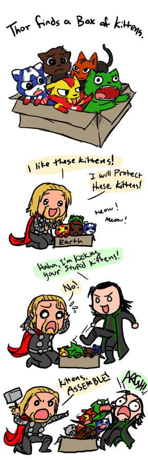 Kitty Avengers