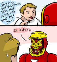 Kitty Avengers: Iron Kitty by Zerochan923600