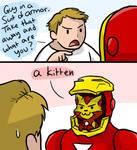 Kitty Avengers: Iron Kitty