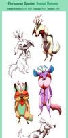Floraverse Species - Bonsai Unicorn by Zerochan923600