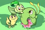The Chikorita Family