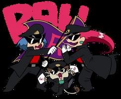Team Rocket Cheer Squad!