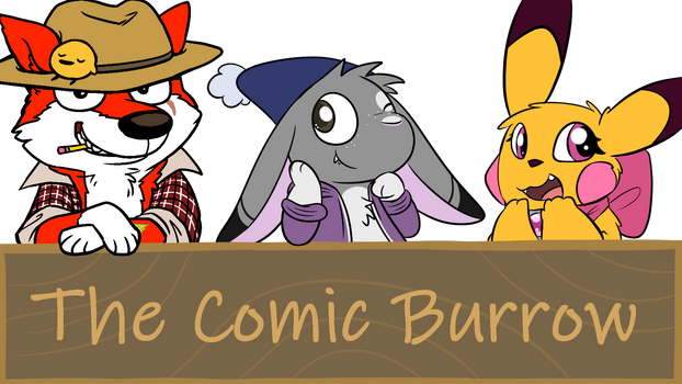 NEW DISCORD SERVER- Come Join The Comic Burrow!