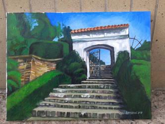 Chrast Park Gate (FINISHED) by Calucifer13