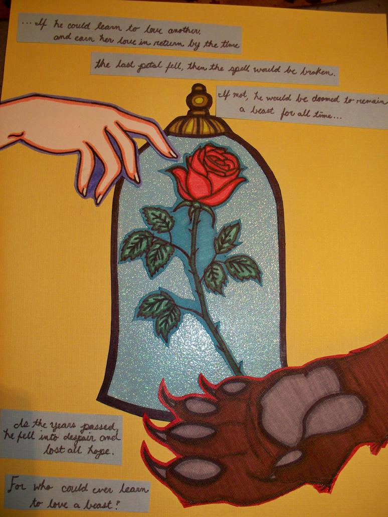Beauty And The Beast By Vietaskellington On Deviantart