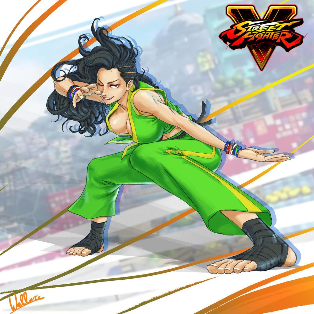 Laura - Street Fighter V by SatsuiNoHado