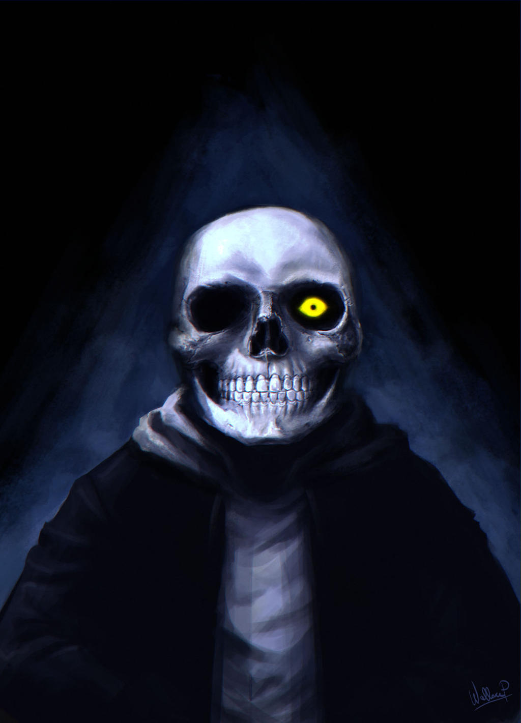 Spooky Scary Skeletons by SatsuiNoHado