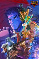 Street Fighter V by SatsuiNoHado