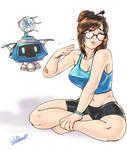 Mei Sketch
