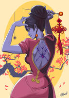 Widowmaker Spray by SatsuiNoHado