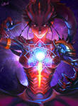 Symmetra halloween skin - Dragon - Overwatch