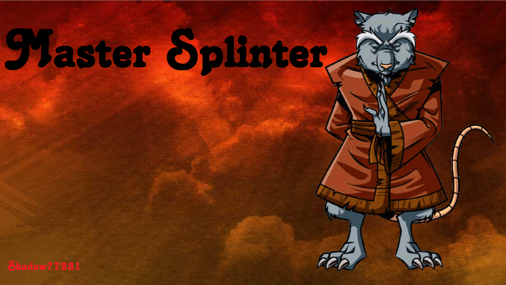 Master Splinter Wallpaper by shadow77281 on DeviantArt