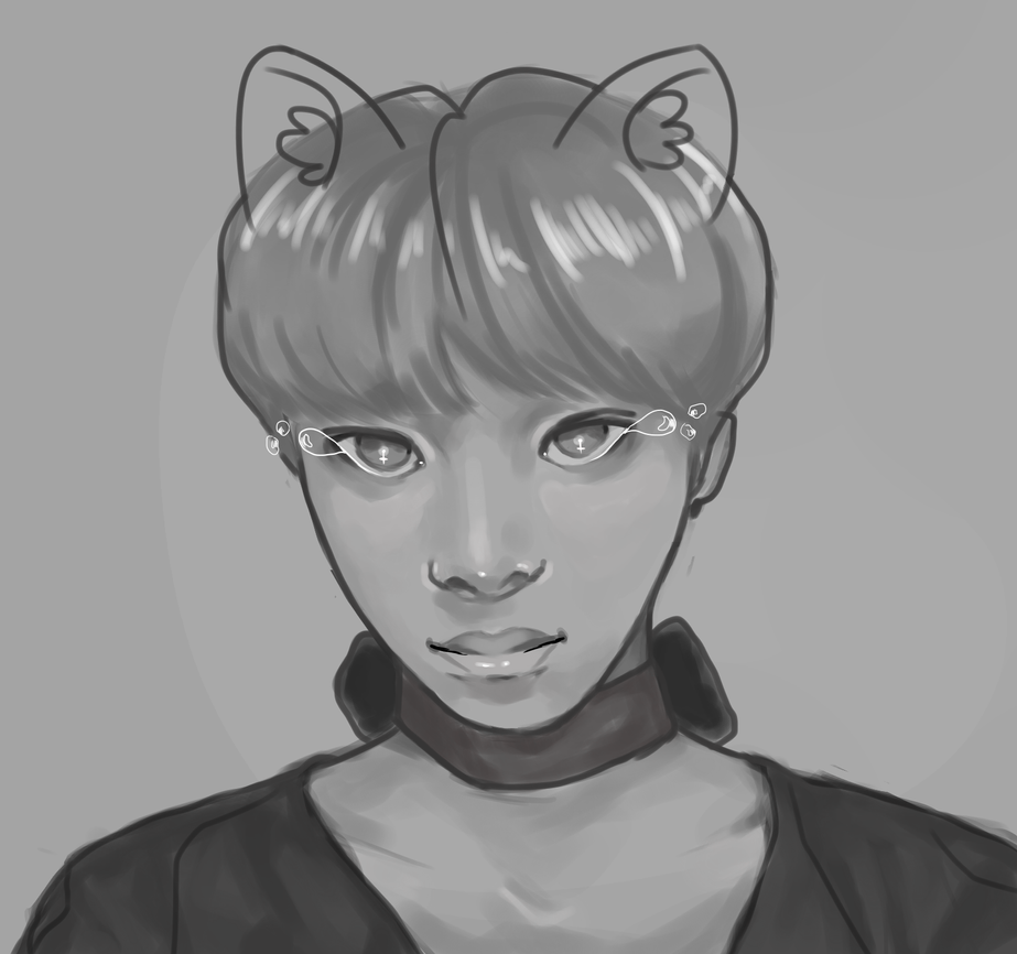 this is supposed to be hyungwon bye by goricat