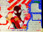 Funny Tribute for Veterans Day (Miles/Gwen) Color