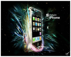 iPhone Delight by Sangiev