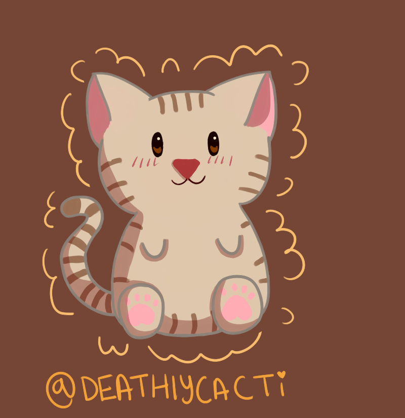Kitty ! by deathlycacti
