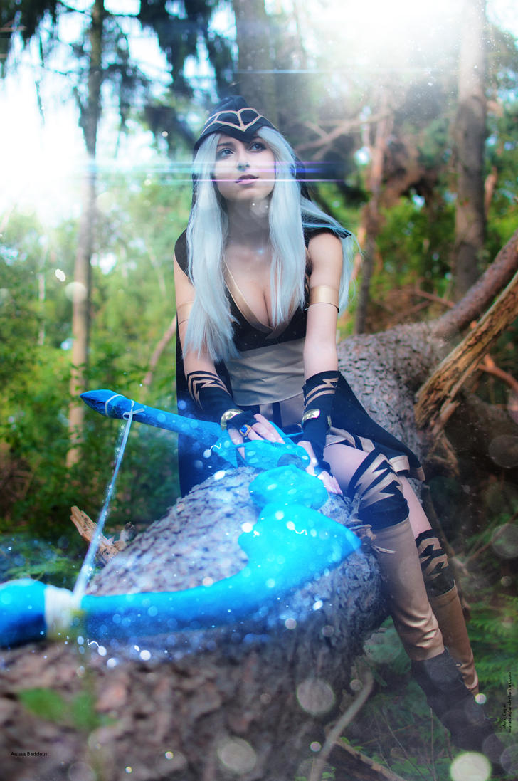 Ashe Cosplay Anissa Baddour Vertical Wallpaper HD by