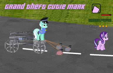 Grand Theft Cutie mark by Dabmanz