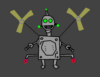 Crank (Ratchet and clank parody art. by Dabmanz