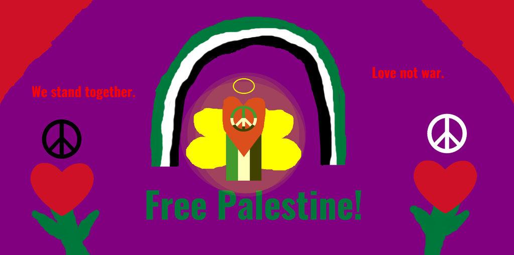 Free Palestine by Dabmanz