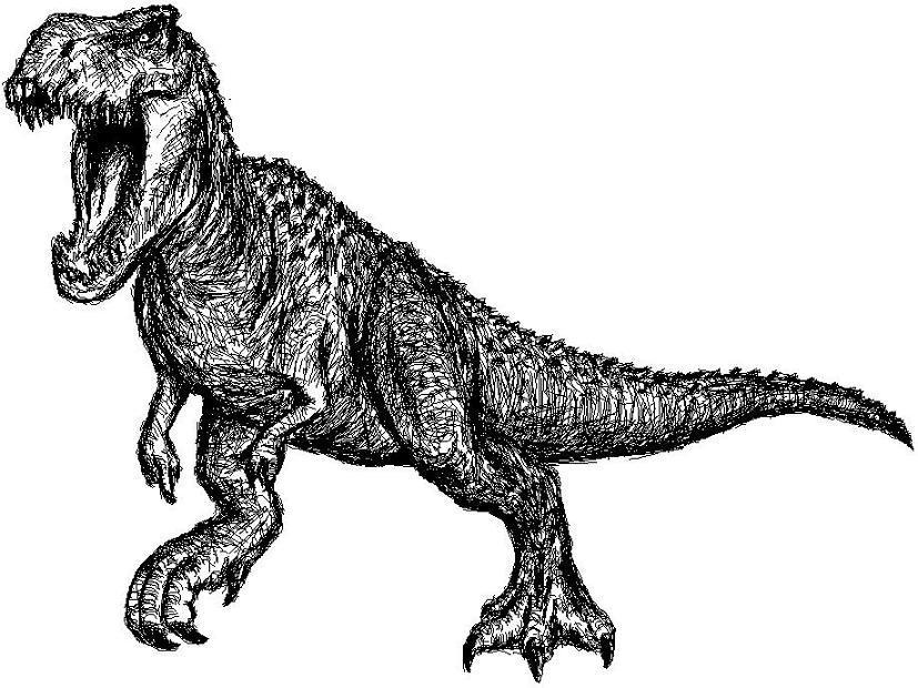 V-Rex Doodle by BullyKilla