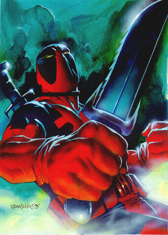 Deadpool by DaveDeVries