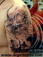 viking by deysitattoo
