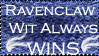 Ravenclaw Wit Wins Stamp by latane4