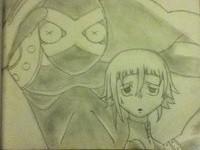 Crona and Ragnarok by spongebobjack