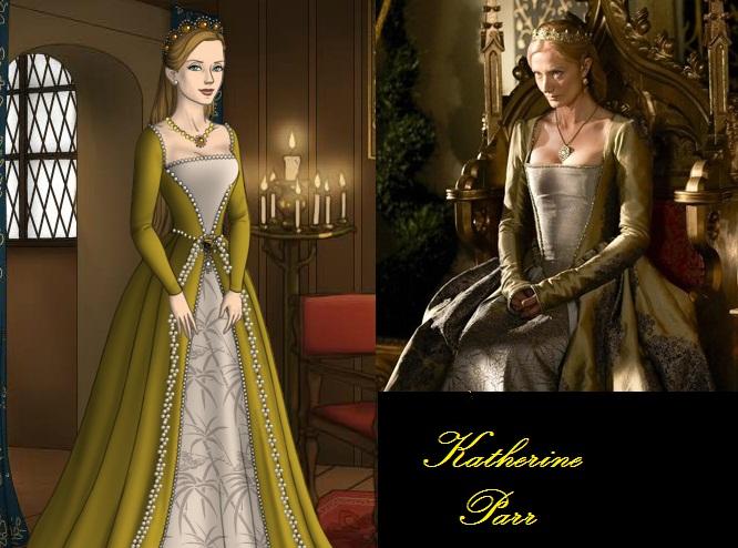 Katherine Parr Gold Dress By Msbrit90 On Deviantart