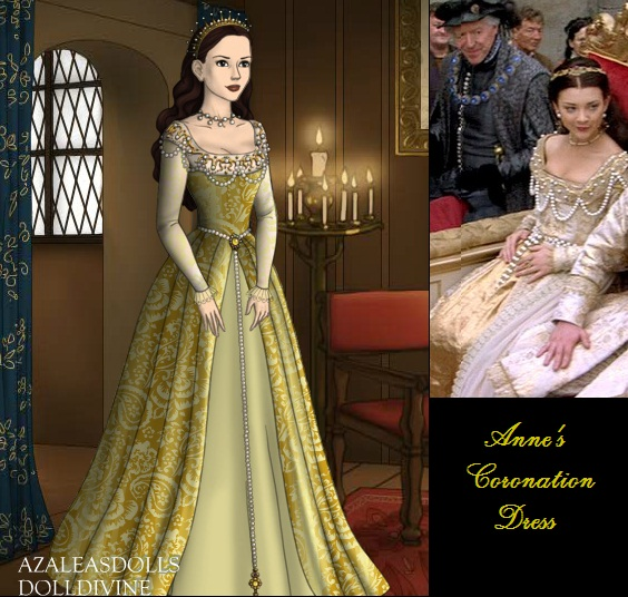 Anne's Coronation Gown by msbrit90