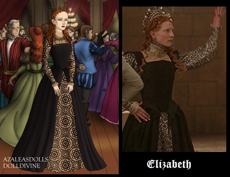 Elizabeth in Black by msbrit90
