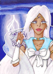 ACEO - Sailor Meteo by EllanEriksson